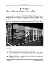 modern control room design tips pdf pdf archive