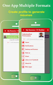 Free Job Resume by My Resume Builder Cv Free Jobs 4 9 Apk Download Android Business