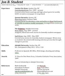Examples On Resumes by Listing Education On Resume Best Resume Collection