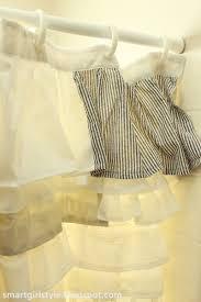 Anthropologie Ruffle Shower Curtain Smartgirlstyle A Ruffle Shower Curtain U0026 Its Awesomeness