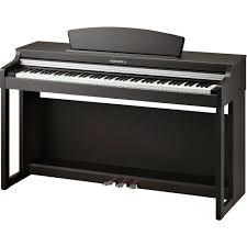 kurzweil m230 88 key digital piano with spinet style m230 sr b u0026h