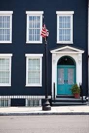 Navy Blue Front Door Best 25 Turquoise Door Ideas On Pinterest Teal Door Colored