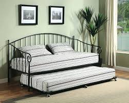 Black Daybed With Trundle Metal Daybed With Pop Up Trundle U2013 Heartland Aviation Com