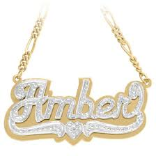 3d nameplate necklace gold nameplate necklaces monogram jewelry be monogrammed