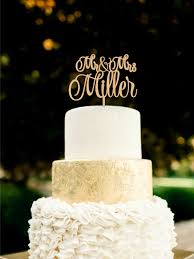 name cake topper wedding cake topper mr mrs last name cake topper wood wedding