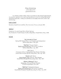 modern resume template free documentary video gallery of film resume film resume template acting resume