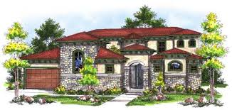 Home Design Italian Style Italian Style House Plans Plan 7 735