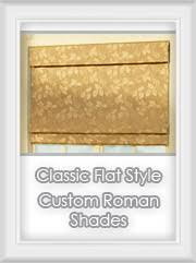 Classic Roman Shades - custom fabric roman shades u0026 rollup blinds bestwindowtreatments com
