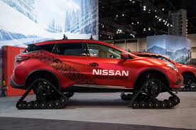 nissan murano red 2016 nissan winter warrior concepts braves chilly chicago