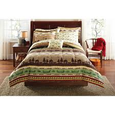 Bed In Bag Sets Mainstays Fishing Bed In A Bag Coordinating Bedding Set