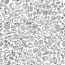 junk food coloring pages image information