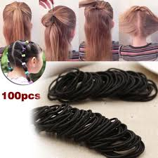 elastic hair band hairstyles 100 pcs kids girl elastic hair bands ponytail holder head rope