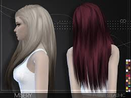 hair color to download for sims 3 stealthic misery female hair