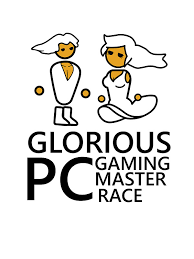 glorious pc gaming master race stickers by marsels redbubble