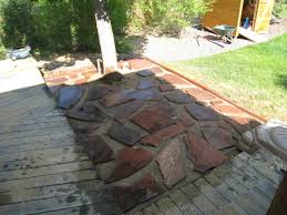 flagstone patio project sneak peek the casual perfectionist
