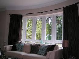 bay window designs home design wzhome net interior curtain ideas