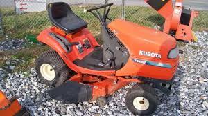 kubota t1460 riding mower with 40
