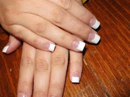 29 french tip nail designs for prom related nails