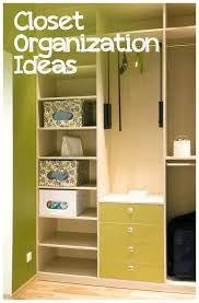 Ideas For Small Closets by 145 Best Closet U0026 Clothes Organizing Images On Pinterest Home