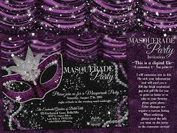 sample black and white party invitations features party dress free