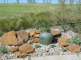landscaping natural outdoor design with rock landscaping ideas