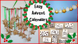 3 simple diy advent calendars to get you hyped for christmas youtube