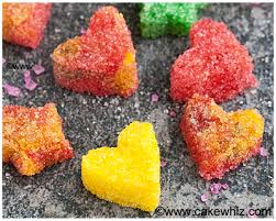 how to make sugar hearts and sugar stars