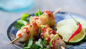 cuisiner le poulpe recettes recette de brochettes de poulpe au citron vert l express styles