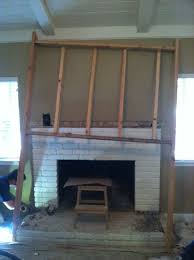 stand out work fireplace remodel maple beam mantel and hand