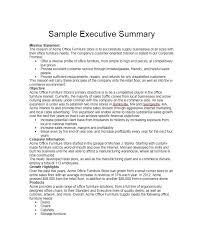 executive summary template 8 free word pdf documents