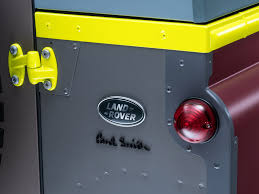 land rover defender 90 yellow paul smith designs his own land rover defender by car magazine