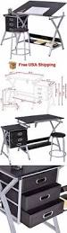 Drafting Table Supplies Other Drawing Supplies 11784 Drafting Craft Table Station Mdf Top