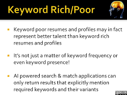 skills and experience keyword talent sourcing and matching artificial intelligence and black box u2026