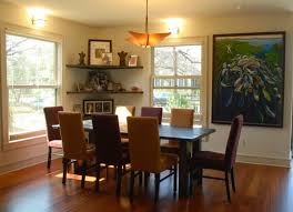 designs ideas dining room with dark dining table and upholstered