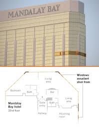 mandalay bay floor plan from shots fired to all clear 72 minutes of terror in las vegas