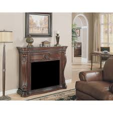 inspirations electric fireplace with mantel 55 electric