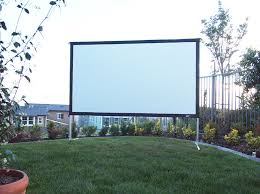 yard master 2 series outdoor projection screen elite screens