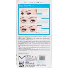 How To Shape Eyebrows With Tweezers The Color Workshop Wow Wow Brows Eye Brow Collection 16 Pc
