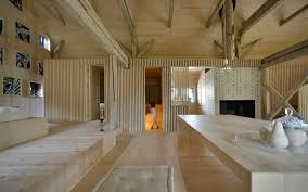 architects transform an old hay barn into a stunning minimalist