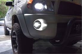 2008 toyota tacoma fog light kit toyota morimoto xb led fogs round led fog lights from the