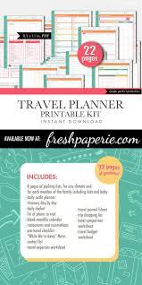 summer holiday planner template best 25 travel planner ideas on pinterest bullet journal travel