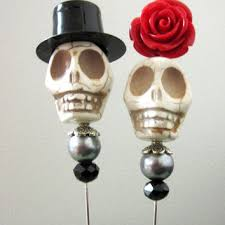 sugar skull cake topper shop sugar skulls and groom on wanelo