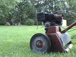 1950 u0027s toro power handle reel mower youtube