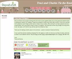 wedding registry options make your wedding registry website for all
