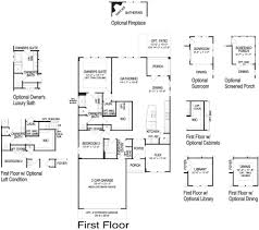 castle rock new home plan howell twp nj centex home builders first floor options