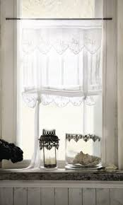 bistrogardinen küche romantische gardinen im landhaus stil lannion 2er set de