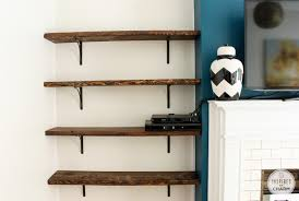 Wall Mounted Bookshelves Wood by Simple Wooden Wall Shelves
