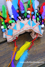 native american thanksgiving story native american craft for kids chief headdress american indian