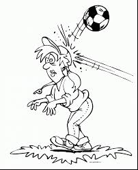 surprising american football ball coloring pages with soccer