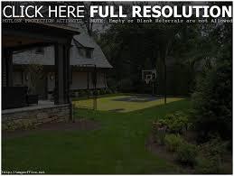 backyards splendid backyard basketball court backyard basketball